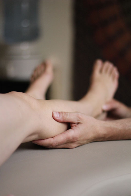 About Denver Rolfing lower leg